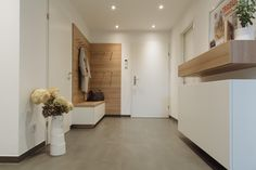 krumhuber.design › Konzept LH Sweet Home, Entryway, Stairs, House Tiles, Balcony, Modern Home Design, Entrance, Stairway, House Beautiful