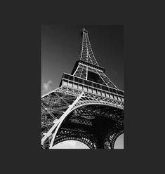 Tour Eiffelen Noir et Blanc