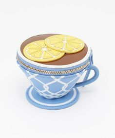 kate spade new york(ケイト・スペード ニューヨーク)のDOWN THE RABBIT HOLE TEA CUP COIN PURSE(コインケース/札入れ)|ブルー系その他