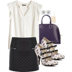 """""""Lydia Inspired Art Gallery Date Outfit"""" by veterization on Polyvore"""