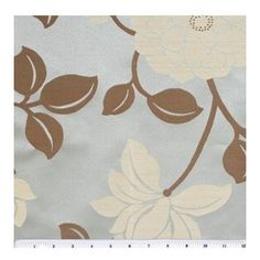 """Liz Claiborne """"Caverly"""" (Oasis) fabric for living room curtains"""