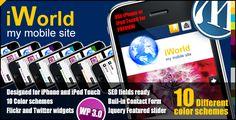 iWorld - Mobile WP Theme