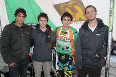 Matías Sacrag, Esteban Booy Graso, Paulo Aventura e Ismael Fernández  Primera fecha Campeonato Nacional FIM Curicó/ Romeral. 23 de junio de 2013