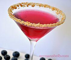 Blueberry Pie Martini