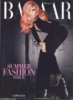Lady Gaga in Harper's Bazaar magazine