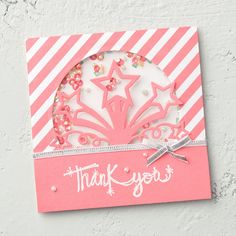 Your projects will look like an explosion of fun when you use the Star Blast edgelits! #stampinup #OccasionsMini2017