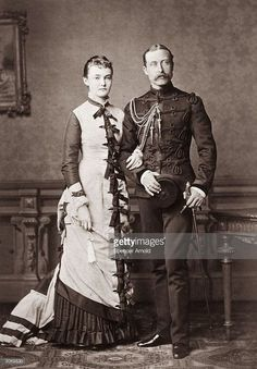 Arthur William, Duke of Connaught (1850 - 1942), third son of Queen Victoria with the Duchess of Connaught, formerly Princess Louise Margaret of Prussia.