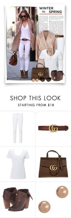 """""""#774 - Winter to Spring"""" by lilmissmegan ❤ liked on Polyvore featuring Frame, Gucci, AllSaints, Simplex Apparel, Sbicca, Marc by Marc Jacobs, GetTheLook, StreetStyle, winterstyle and Wintertospring"""