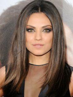 #smokeyeyes #brunette #maquillage #beauté #makeup #trend