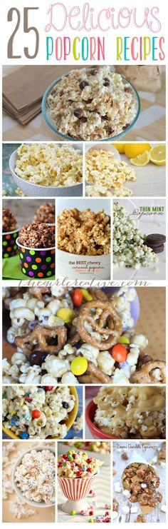 Delicious and savory popcorn recipes