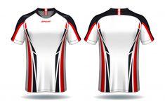 sport t-shirt design. Sport Wear, Sport T Shirt, Sports Jersey Design, Polo Shirt Design, Kids Silhouette, T Shirt Design Template, Sports Uniforms, Uniform Design, Logo Nasa