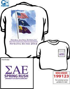 Tshirt designs on pinterest sigma phi epsilon southern for Southern fraternity rush shirts