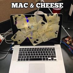 don't know much about computers...but I know enough to find this funny! Mac and Cheese