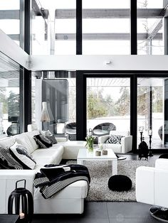 Modern and ecological villa in Finland by krista keltanen photography