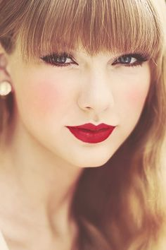 Taylor Swift - the girl who made me want to wear red lipstick.  pinterest.com/pin/15973773660995071 EXSENS of Paris Organic Massage Oil https://www.adultdvdempire.com