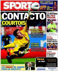 Los Titulares y Portadas de Noticias Destacadas Españolas del 8 de Octubre de 2013 del Diario Sport ¿Que le pareció esta Portada de este Diario Español?