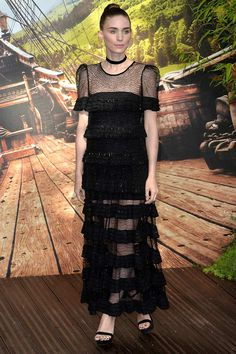 Rooney Mara Design: Givenchy