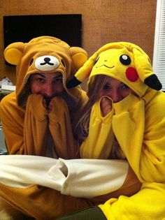Kirstie and Mitch being cute <3