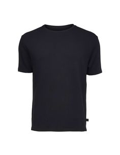 stone sweatshirt - Men's short-sleeved t-shirt in cotton fleece. Features round neckline with rib matching main fabric. Fold at end of sleeve and bottom hem. Men's Sweatshirts, Tiger Of Sweden, Cotton Fleece, Neckline, Stone, Fitness, Fabric, Sleeves, Mens Tops