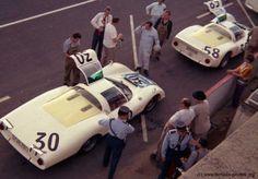 Siffert/ Davis, Porsche 906 / 6 LH, 24 heures 1966