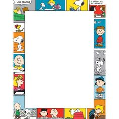 Eureka Peanuts Comic Blocks Computer Paper, Package of 50 Sheets Snoopy Birthday, Snoopy Party, Snoopy Classroom, Classroom Themes, Snoopy School, School Classroom, Memo Notepad, Polaroid Frame, Computer Paper