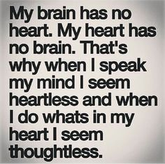 Heartless vs thoughtless