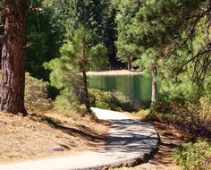2 mile trail around Hume Lake