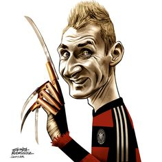 Brasil 2014 caricatures #MuyHermano by Gonza Rodriguez, via Behance