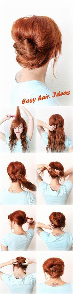 Easy hair. Ideas