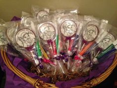 Party Favors-Color with edible markers!