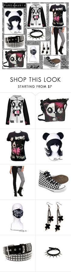 """Panda man!a"" by toxicjooker666 on Polyvore featuring moda, Panda, Corgi i Hot Topic"
