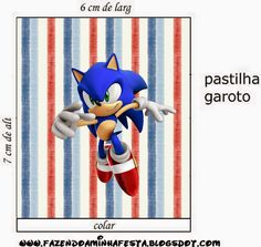 Sonic: Etiquetas Candy Bar para Imprimir Gratis. Sonic Party, Bar, Sonic The Hedgehog, Lily, Birthday, Fictional Characters, Template, Gabriel, Sonic Birthday