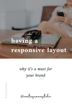 5 reasons for having a responsive website Web Design Projects, Ux Design, Branding Design, Business Advice, Business Quotes, Responsive Layout, Social Media Branding, Blogging For Beginners, Online Marketing