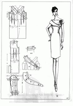 Chinese method of pattern making- Dresses, dresses,dresses ( beginning from the 80s) - SSvetLanaV - Álbumes web de Picasa