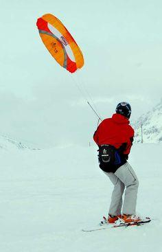 Snowkiting Switzerland