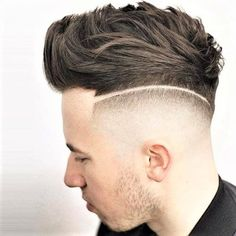 The 30 Different Types of Fades: A Style Guide - Men Hairstyles World - Men's style, accessories, mens fashion trends 2020 Long Fade Haircut, High And Tight Haircut, Long Hair On Top, Hair To One Side, Very Short Haircuts, Short Haircut Styles, Types Of Fades, Undercut Fade Hairstyle, High Skin Fade