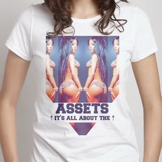 ASSETS V2 Graphic Tee by DIANAROSAPINA on Etsy