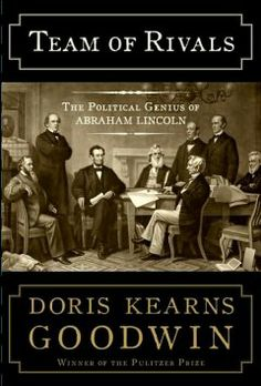 Team of rivals : the political genius of Abraham Lincoln by Doris Kearns Goodwin.  Click the cover image to check out or request the biographies and memoirs kindle.