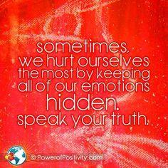 Remember to speak.