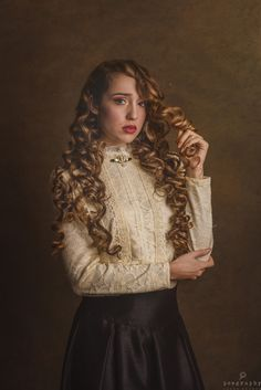 Lady Curls | by Jesus Solana Poegraphy