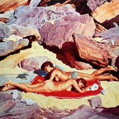 Roman Romp, Oil on canvas, 24 x 24, in.2014
