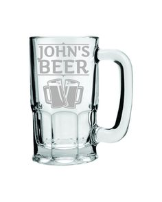 Hey, I found this really awesome Etsy listing at https://www.etsy.com/listing/171573476/huge-beer-stein-34oz-glass-beer-wagon