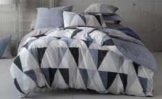https://flic.kr/p/Q1g6uu | Seddon Quilt Cover Set by KAS ROOM | By the light of silvery moon, a good night's sleep is a sure thing under this dreamy quilt cover set. www.beddingsquare.com.au/seddon-quilt-cover-set-kas-room-...