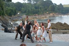 Cscape performing on the private beach at Trebah Garden, Cornwall. Photo by John Freddy Jones. Cornwall, Gardens, Couple Photos, Beach, Image, Couple Shots, The Beach, Outdoor Gardens, Couple Photography