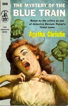 Mystery of the Blue Train by Agatha Christie.  Pocket Book edition.
