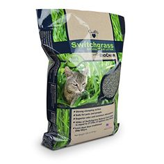 OurPets Switchgrass Natural Cat Litter with Biochar 10 pound *** Click image for more details.