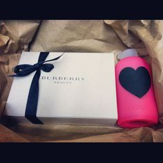 best friend gift - BURBERRY &  Bkr liter bottle