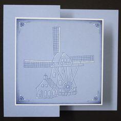 Marjoleine's blog: 6 gestempelde Hollandse kaarten