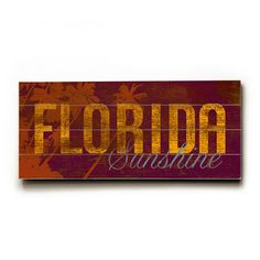 Florida Sunshine 24x10 now featured on Fab.