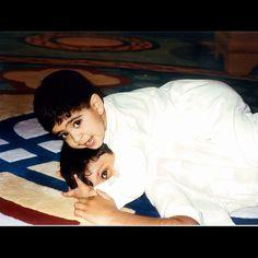 Ahmed bin Mohammed bin Rashid Al Maktoum con su primo Mohammed bin Rashed bin Khalifa Al Maktoum